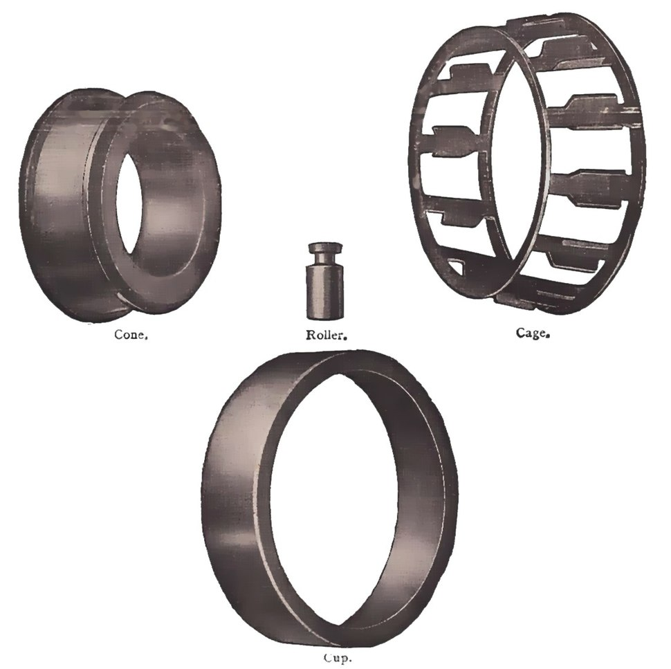Early Timken roller bearing