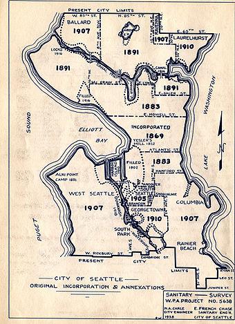 List Of Neighborhoods In Seattle Wikiwand