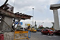 Eastern Metropolitan Bypass & John Burdon Sanderson Haldane Avenue Junction - Parama Island - Kolkata 2012-05-02 0015.JPG