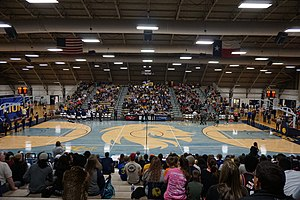 Texas A&M–Commerce Field House - Image: Eastern New Mexico vs. Texas A&M–Commerce men's basketball 2016 01