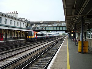 Eastleigh railway station - Image: Eastleigh Railway Station geograph.org.uk 261486
