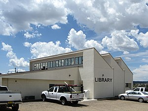 Edgewood (New Mexico) Public Library, located ...