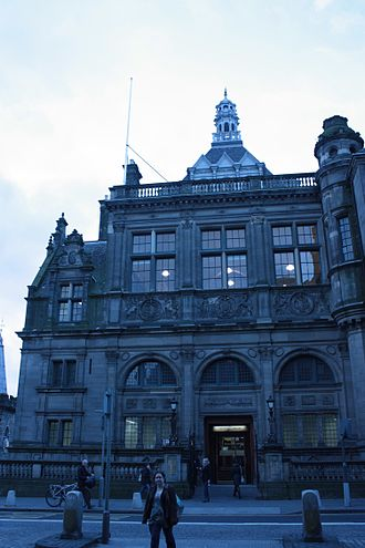 George Washington Browne - Central (Carnegie) Library on George IV Bridge Edinburgh