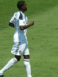Edson Buddle at Galaxy at Earthquakes 2010-08-21 3.JPG