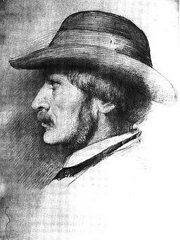 Eduard Bendemann 1811 - 1889 Selbstbildnis 1859