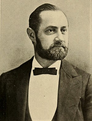 Issler's Orchestra - Pianist and bandleader Edward Issler in 1904