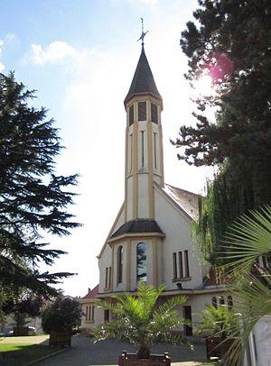 Amnéville - Image: Eglise Amneville