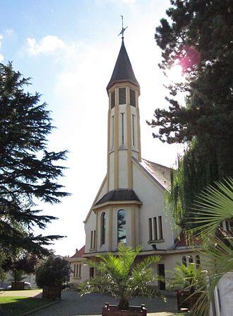 Amnéville - The church in Amnéville