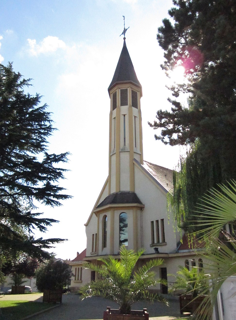 The church in Amnéville