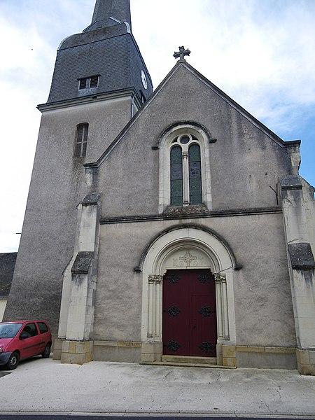 Eglise de l'hotellerie de flée
