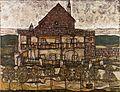 Egon Schiele - House with Shingle Roof (Old House II) - Google Art Project.jpg