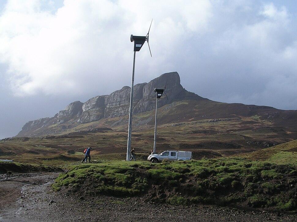 Eigg wind turbines