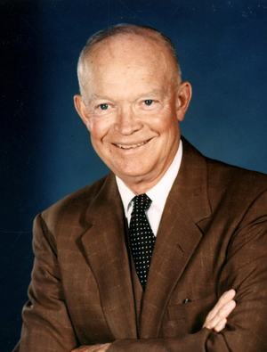 United States presidential election in Michigan, 1956 - Image: Eisenhower official cropped