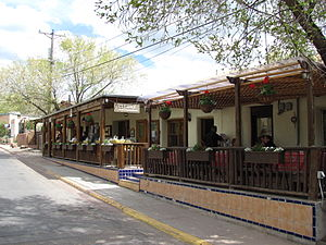 El Farol Bar problem - El Farol located on Canyon Road, Santa Fe, New Mexico