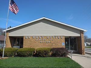 El Paso, Illinois - El Paso post office