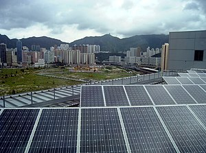Solar power in China - Solar PV power generation in Hong Kong