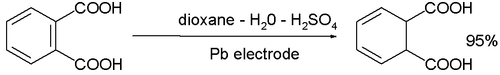 reduction of phthalic acid