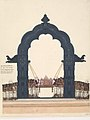 Elevation of the black stone arch.jpg
