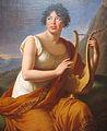 Elisabeth-louise vigée-lebrun, ritratto di madame de stael come corinna a capo miseno, 1809, 02.JPG
