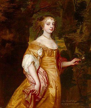 Elizabeth Percy, Countess of Northumberland - Lady Elizabeth Wriothesley, portrait c.1662/1663 by Sir Peter Lely, collection of the National Trust, Petworth House