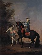 Elizaveta with Black Servant by Grooth (1743, Tretyakov gallery).jpg