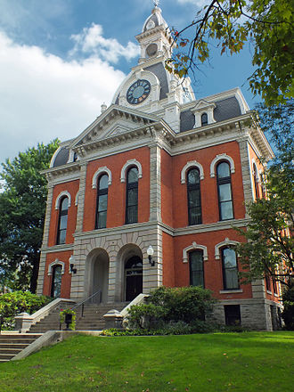 Elk County, Pennsylvania - Image: Elk County Courthouse