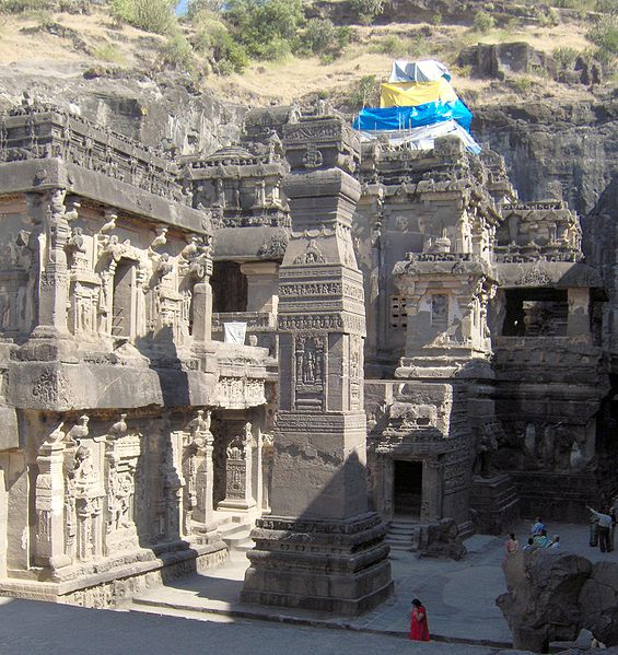 File:Ellora Kailash temple overview.jpg