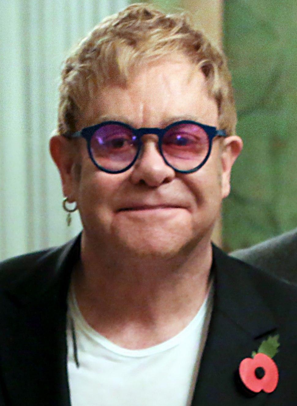 Elton John November 2015
