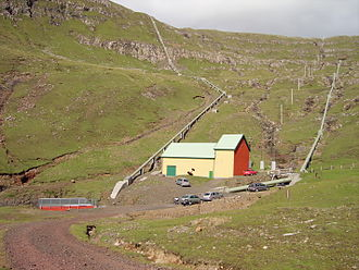 Suðuroy - The 3.3 MW Botnur power plant was built in 1921.