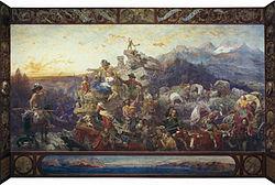 Emanuel Leutze: Westward the Course of Empire Takes Its Way