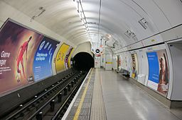 Embankment tube station, Northern Line platform 8 June 2013
