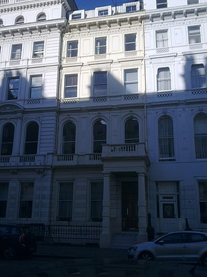 Embassy of Costa Rica, London - Image: Embassy of Costa Rica in London 1
