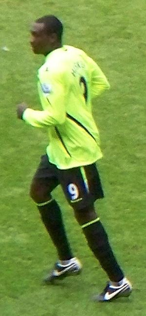 Emile Heskey - Heskey playing for Wigan Athletic in 2008