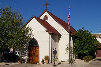 National Register of Historic Places listings in Caldwell County, Texas - Image: Emmanuel episcopal church 2011