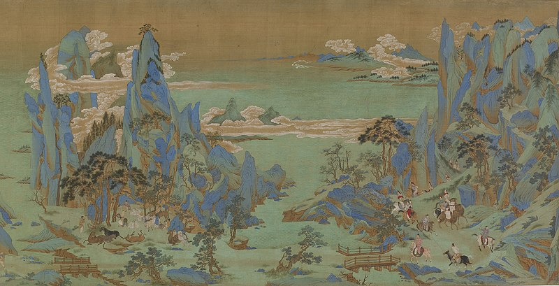 Файл:Emperor Minghuang's Journey to Sichuan, Freer Gallery of Art.jpg