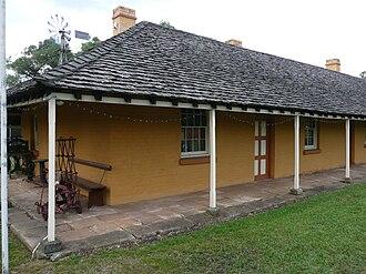 Emu Plains, New South Wales - Former Arms of Australia Inn