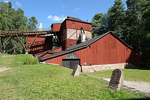 Industrial heritage - Engelsberg Ironworks, Sweden