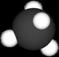 Enkel modell av eit metanmolekyl.png