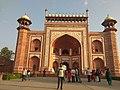 Entrance gate of THE GREAT TAJ MAHAL.jpg