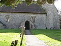 Entrance to the Church of Transfiguration Pyecombe - geograph.org.uk - 1745488.jpg