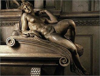 Dawn (Michelangelo) - Image: Eos 1