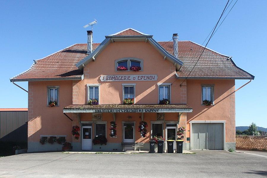 Fruitière d'Épenoy (Doubs).