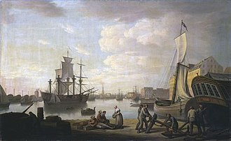Erik Pauelsen - Image: Erik Pauelsen Port of Copenhagen 1888