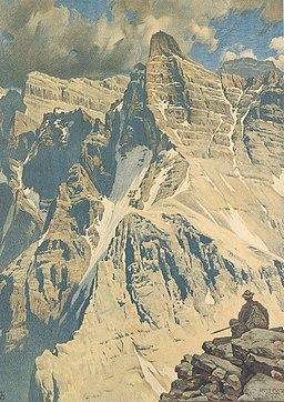 Ernst Platz, Kaltwasserkarspitze im Karwendel