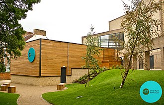 Royal & Derngate - Image: Errol Flynn Filmhouse part of Derngate Theatre Complex, Northampton, England
