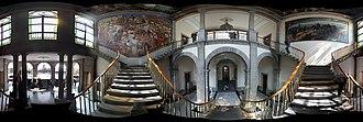 Chapultepec Castle - Image: Escalier entrée château Chapultepec
