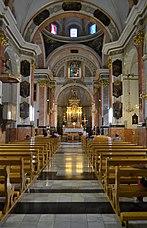 Església del sant Sepulcre d'Alcoi, interior.JPG