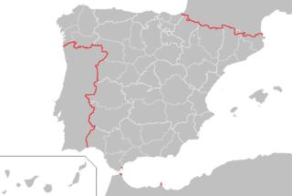 Borders of Spain