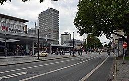 Am Hauptbahnhof in Essen