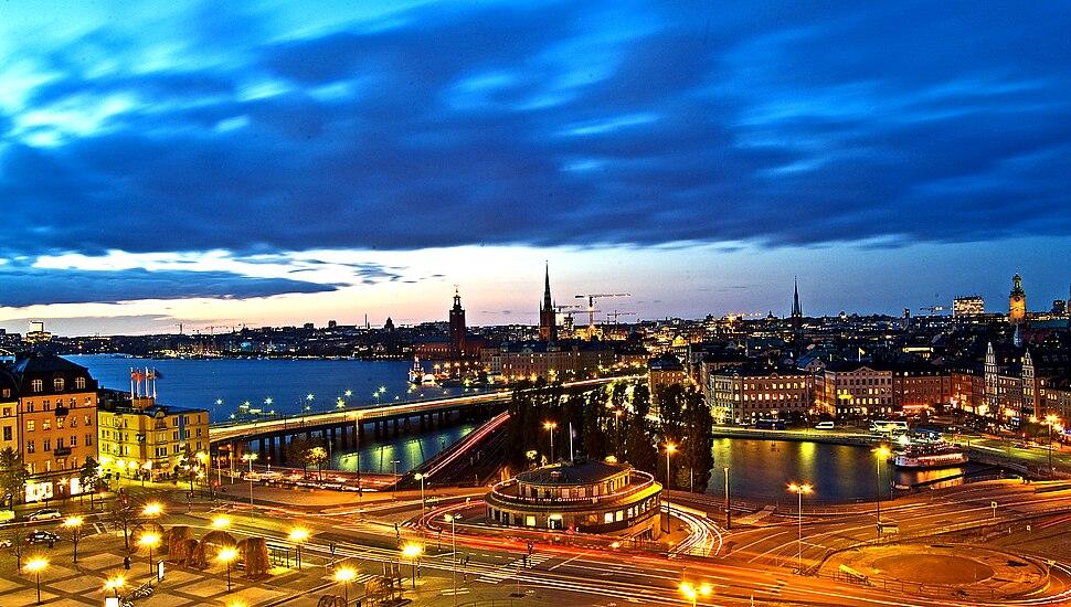 """Estocolmo de Noche..... """" Blue hour """""""